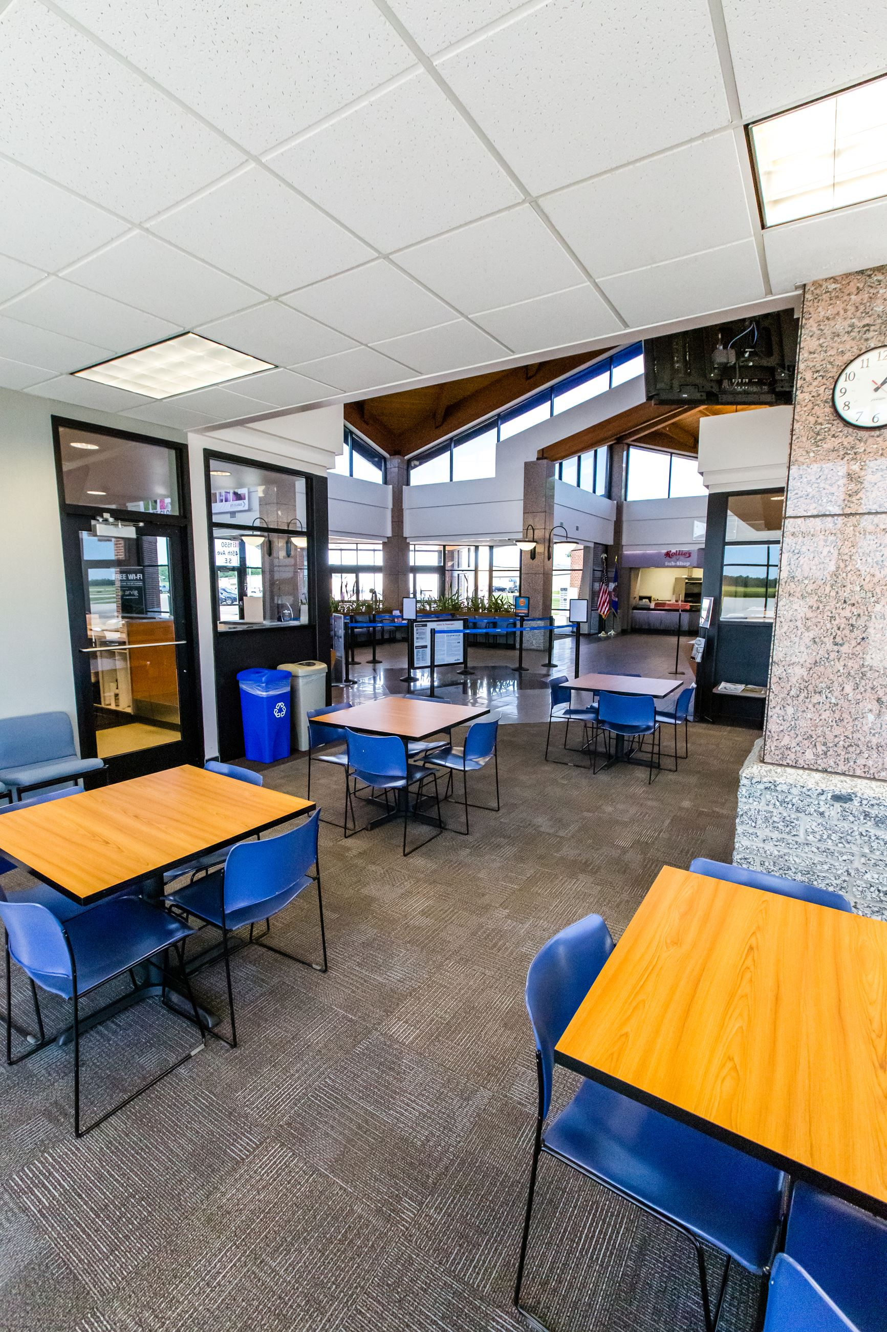 Commons Eating area